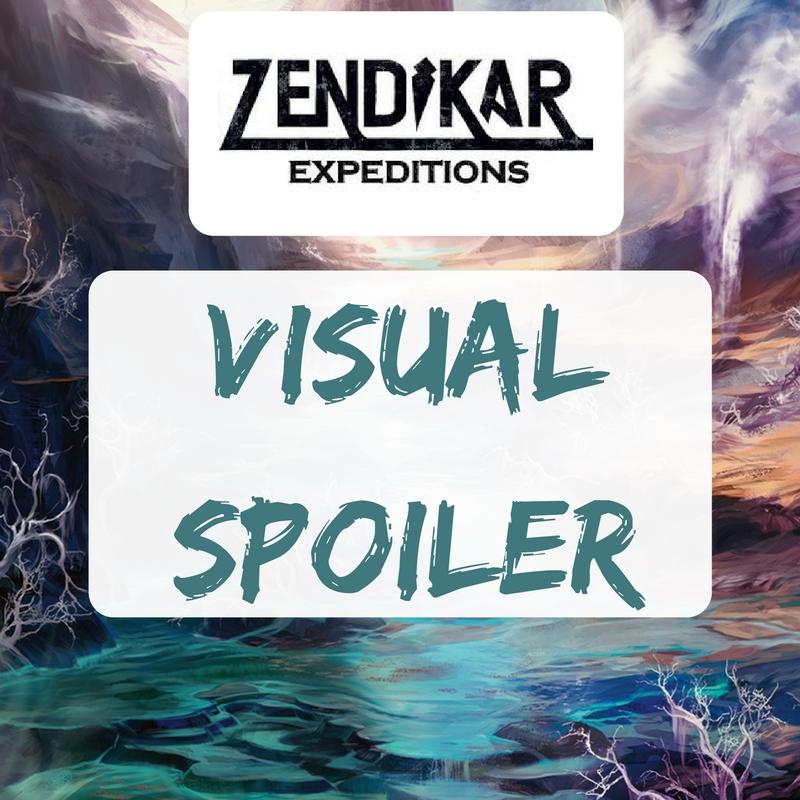 Zendikar Expeditions - Visual Spoiler