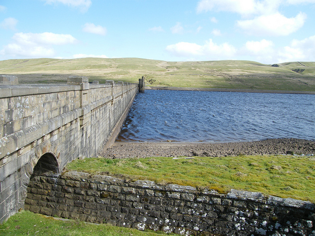 Angram Reservoir by colgregg - walks in Nidderdale