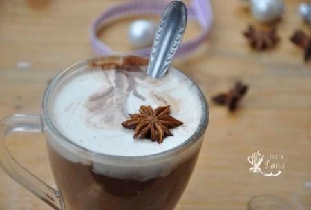ciocolata calda din nuca de cocos