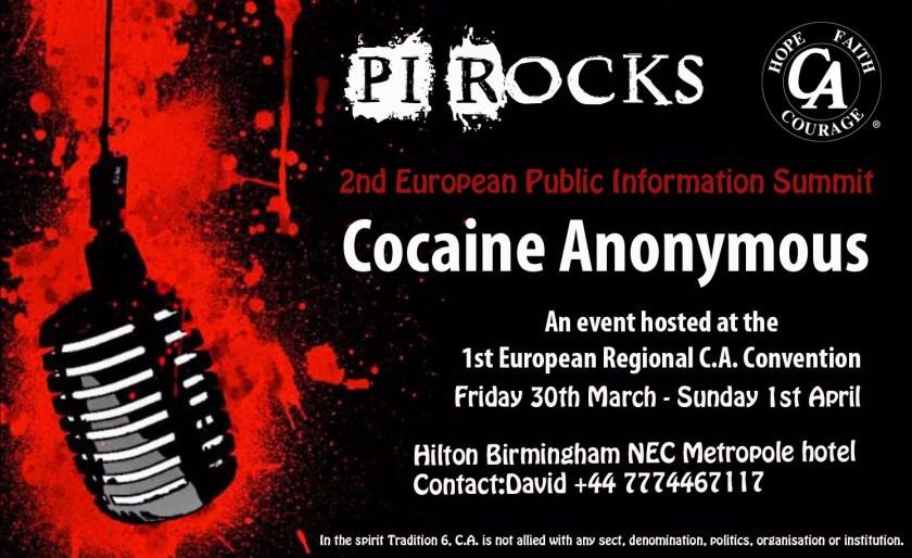 PI Rocks Event