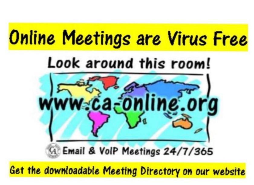 Online CA Meetings