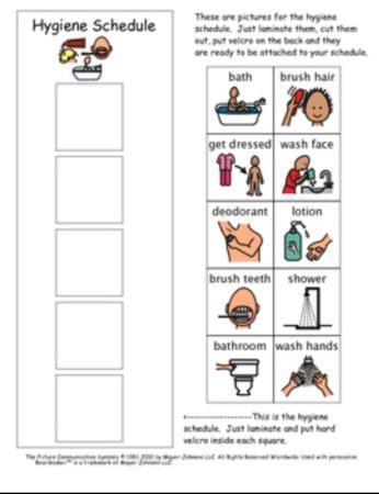 Hygiene Schedule for ADHD Kids