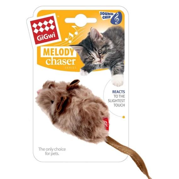 7016 gigwi cat toy juguete para gatos de raton con sonido