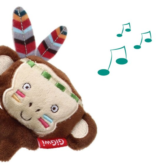 juguete para gatos 7225 gigwi melody cat toy mono con sonido