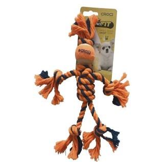 C6098742 juguete para perros sogas cuerda croci
