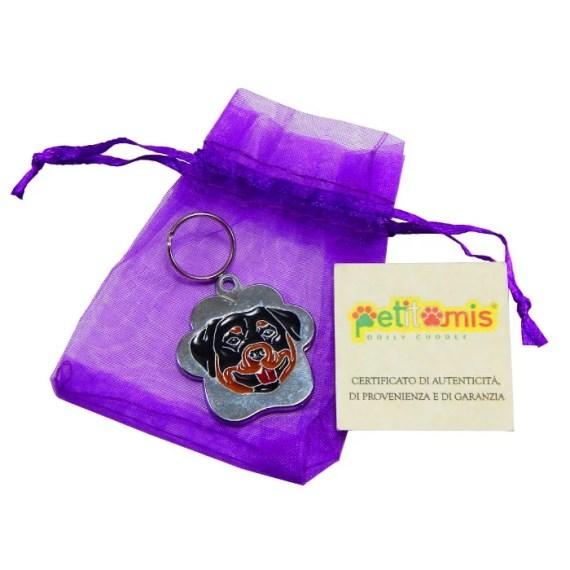 placa de identificacion para perros grabado peru lima petitamis