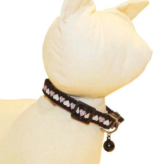 collar para gatos de corazon en lima peru miraflores surco