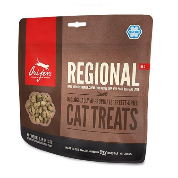 treat orijen regional red
