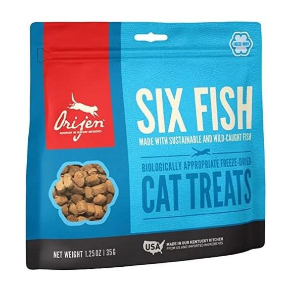 treat premio para gatos orijen six fish lima peru miraflores