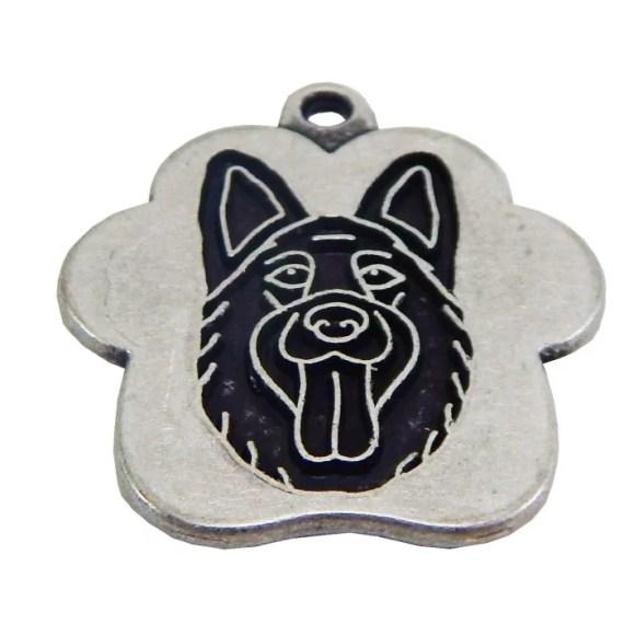 placa de identificacion para perros grabado peru lima pastor aleman
