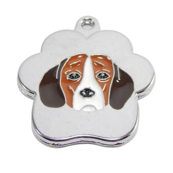 placa para perros beagle ingles grabado peru