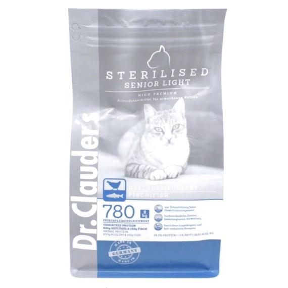 comida para gatos dr clauder's esterilizado sterilised senior light high premium en lima peru miraflores