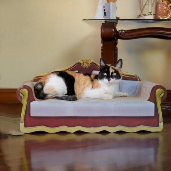 rascador para gatos en Miraflores Lima Peru cat-oh peru fabricantes de carton
