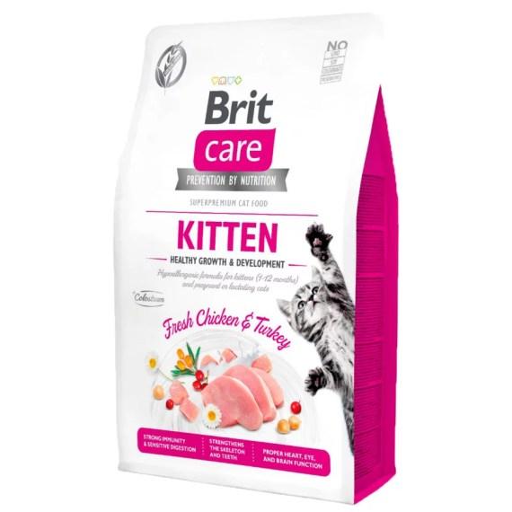 brit care superpremium kitten comida para gatos healthy & growth gatitos en Miraflores Lima Peru