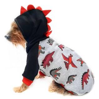 polera ropa para perros de algodón en miraflores lima peru dinosaurio