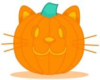 calabaza gatos halloween gatos