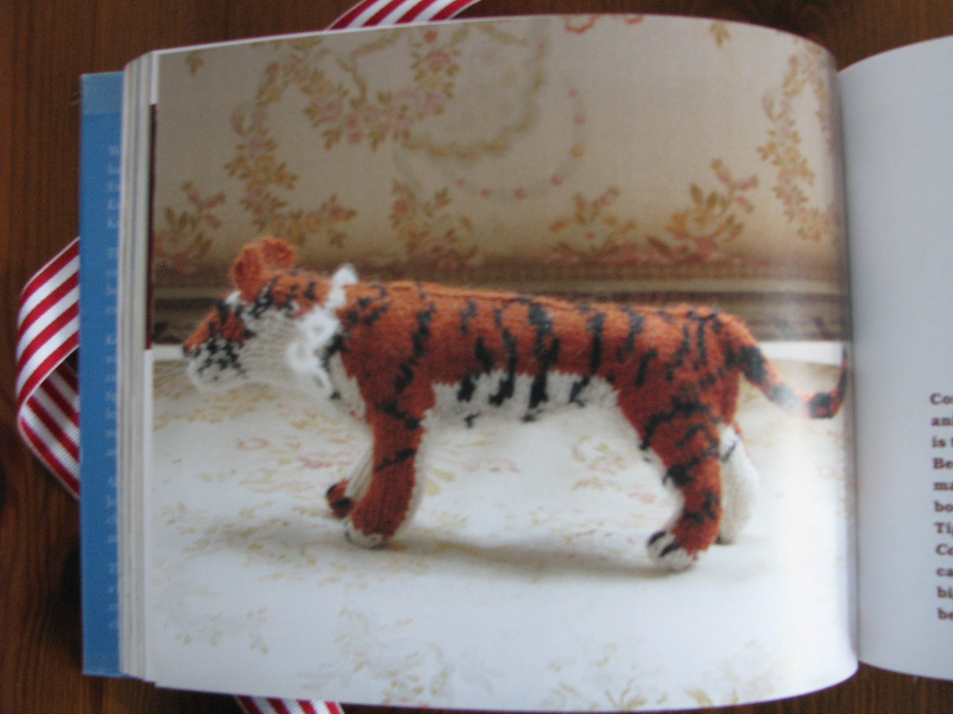 christmas gifts for cat and cat lovers knitted tiger from knit your own zoo book
