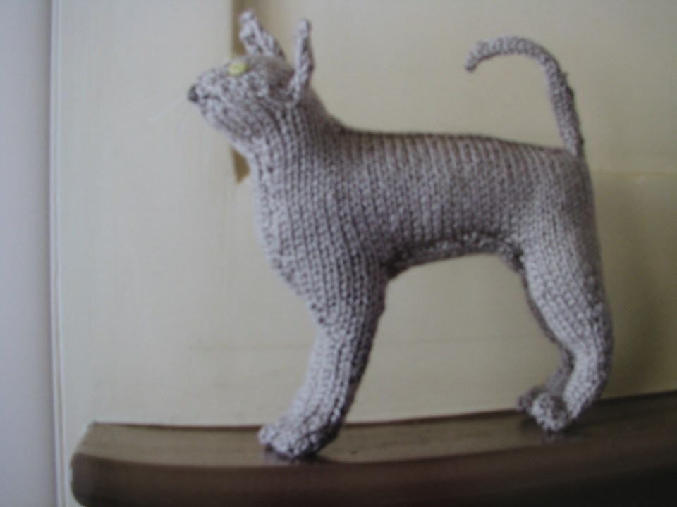 Book Review Knit Your Own Cat