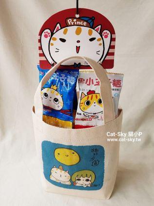 catsky-小提袋貓好月圓1