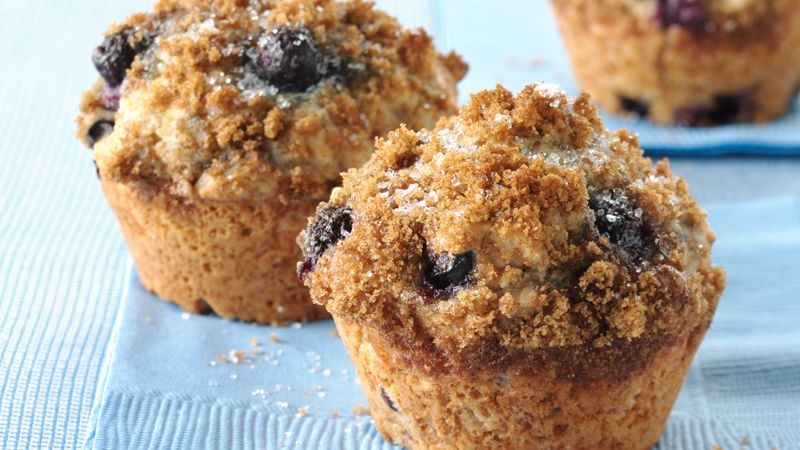 BLUEBERRY WHOLE WHEAT MUFFINS