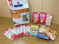 20190804猫譲渡会の物品ご寄付