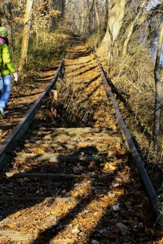 Historic Train Tracks