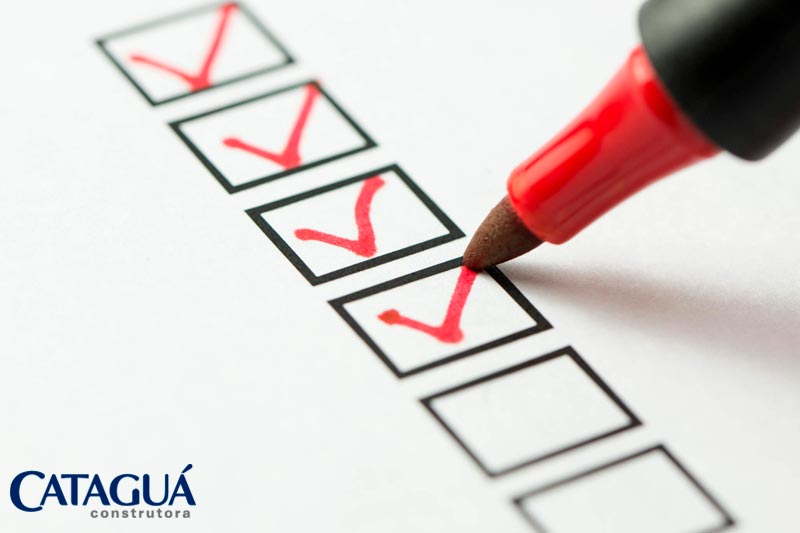 Checklist da documentacao para o financiamento imobiliario