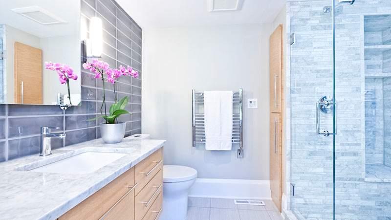 Single Family Bathroom Design Trends for Model Homes on Bathroom Model Design  id=19223