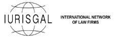IURISGAL, Red internacional de Despachos de Abogados independientes que tiene el español
