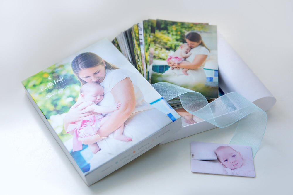 Family Photography box and usb