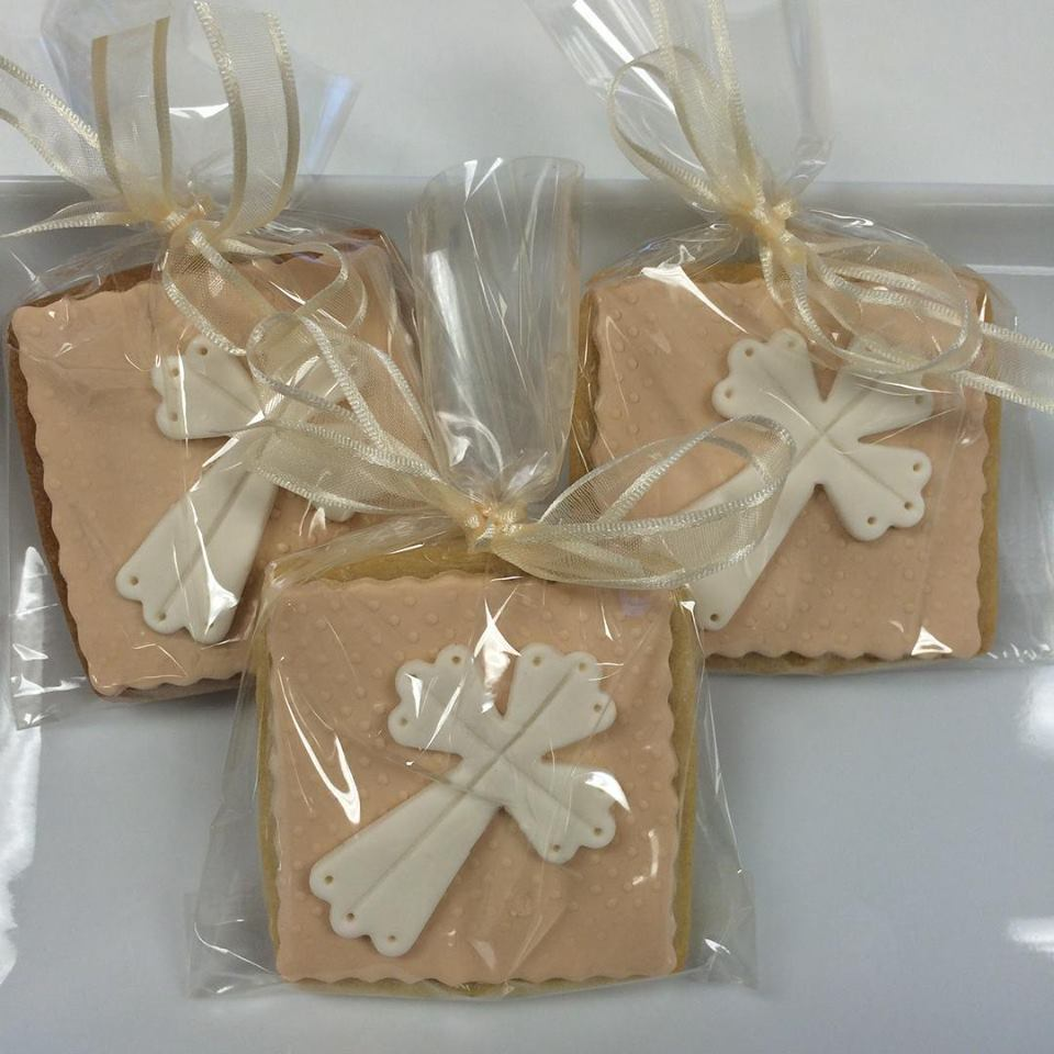 Decorated Cookies for Gift Favors