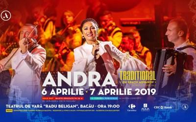 """UPDATE Andra susține și al doilea concert """"Tradițional"""" în Bacău"""