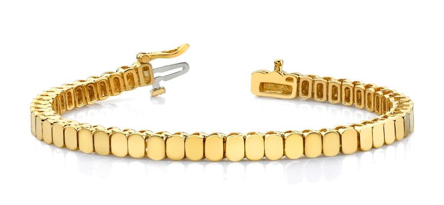 Solid Oval Add a Diamond Bracelet