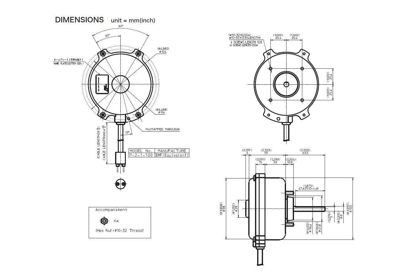 Fp10s Series Ec Motor Ac Dc Motors On Japanese Products