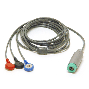 Snap Electrode Lead Cable for USB Lite