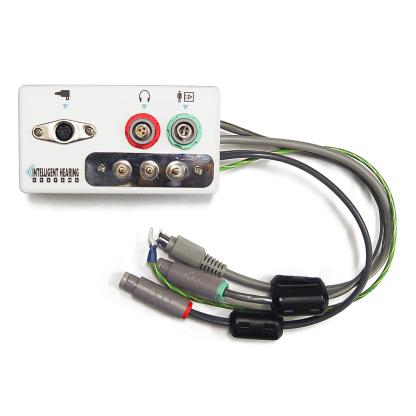 Sound output-electrode box