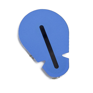 Blue sensor SUPA tab electrode