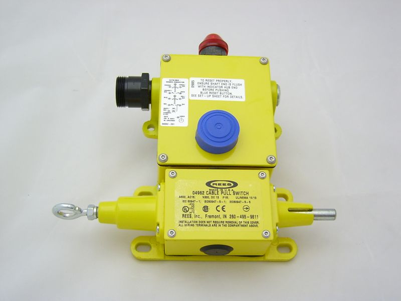 Cable/Rope Operated Switches With Broken Cable Detection