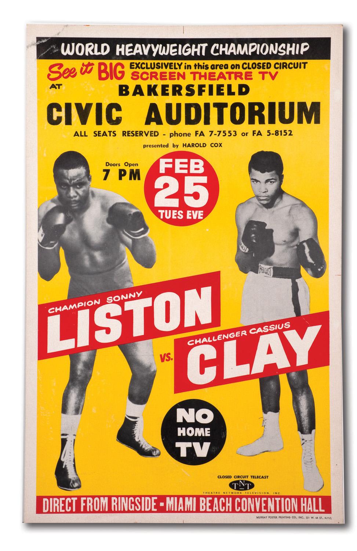 vs sonny liston closed circuit fight