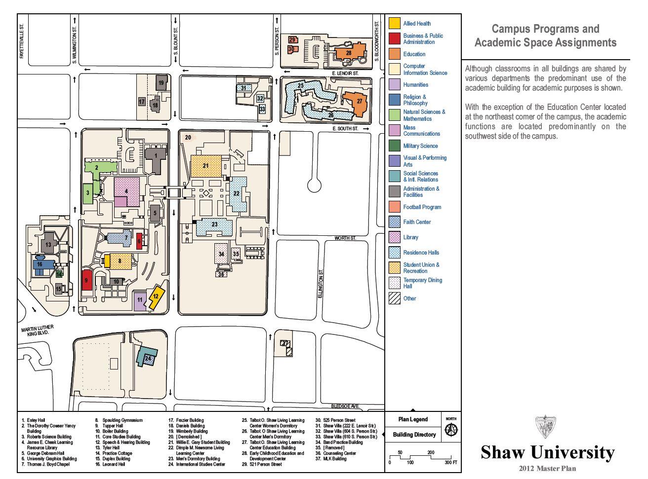 Livingstone College Campus Map