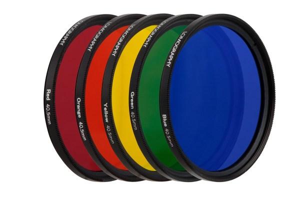 Color Filter Set Daguerreotype Achromat 2.9/64 Art Lens 40 ...