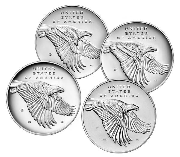 American Liberty 225th Anniversary Silver Four-Medal Set ...