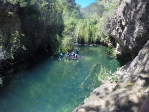 canyoning et via ferrata salou costa daurada