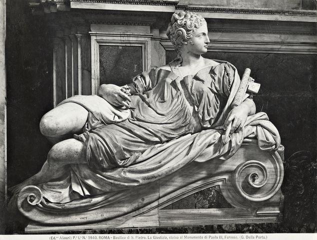 Bildresultat för della porta papa paolo iii tomba