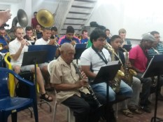 Gremio Henrique Dias e a Luther College Jazz Orchestra