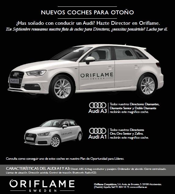 Nuevo coche Oriflame