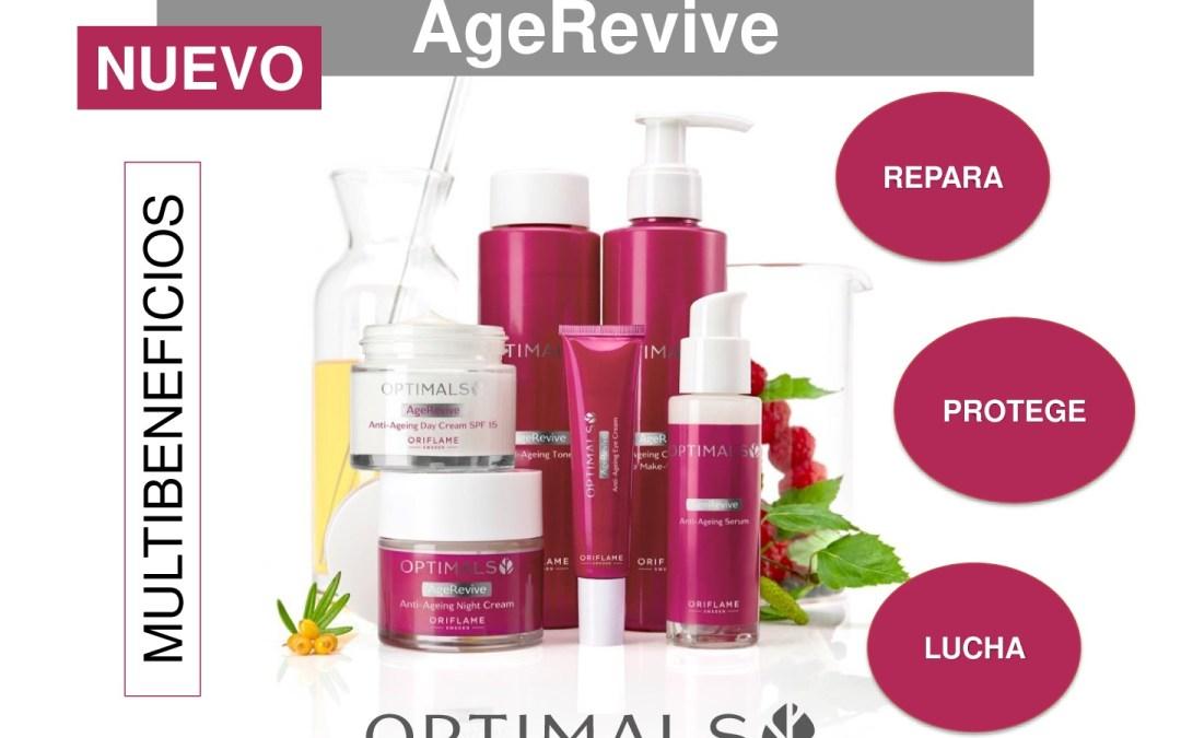 Línea cosmética Oriflame AgeRevive