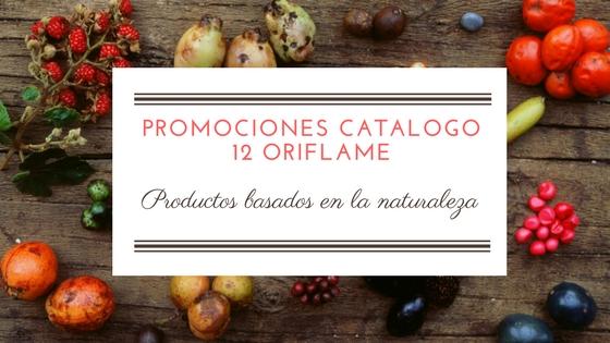 Promociones catalogo 12 Oriflame