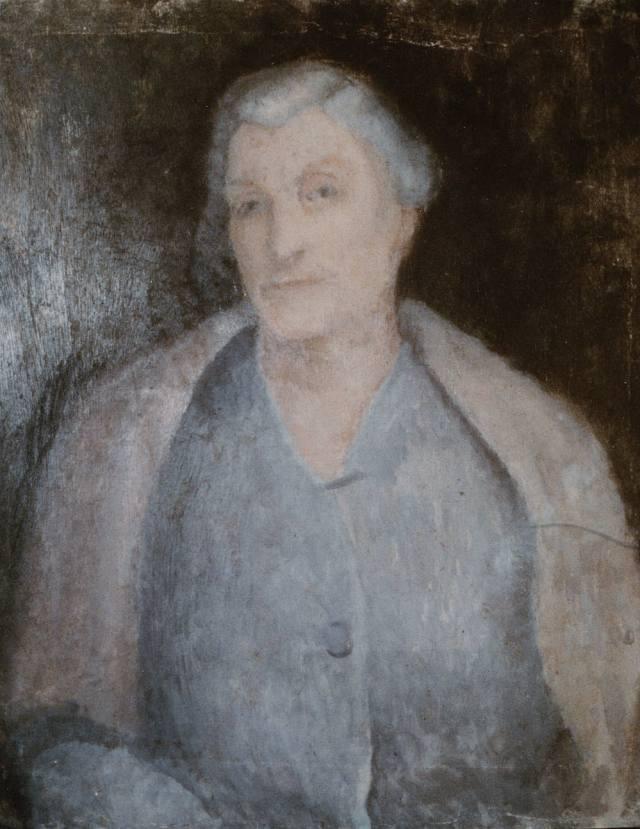 Ritratto della zia Erminia De Luigi