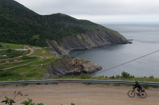 Meat Cove Oceanside Campground in Cape Breton